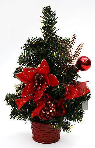 Декоративная елка в горшке, 25см 183-T72