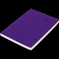 Блокнот діловий COLOR TUNES А5, 96 арк, лінія, обкладинка штучна шкіра