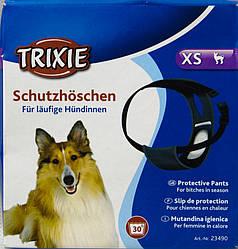 TRIXIE 23490 Трусы для собак de Luxe 20-25 см, черные