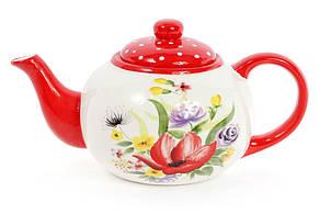 Чайник керамічний 1.25 л Акварель DK0097-D