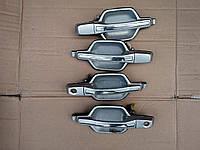 Ручка двери передняя правая (наружняя), MR644685, Mitsubishi Pajero Wagon (Митсубиши Паджеро вагон 3)