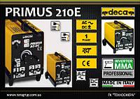 Сварочный аппарат - трансформатор AC/DC, 220/380В, AC 30-180А, DC 20-130A.,  DECA PRIMUS 210E