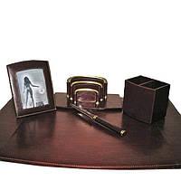 Набор Tony Perotti Scrittoio 1806 moro кожаный коричневый письменный настольный