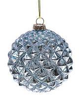 Набор шаров 8см (2шт) состаренный голубой NY37-240