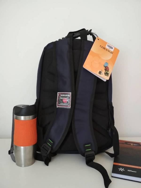 0a027ddcba7d Школьный рюкзак для мальчика подростка Gorangd черного цвета 42*32*13 см,  ...