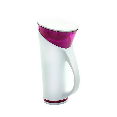 Чашка с термометром Magic Cup Розовая, фото 2