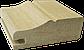 Рамковий профіль МДФ №021 шпонований 22 мм 2,8мх60 мм, фото 2
