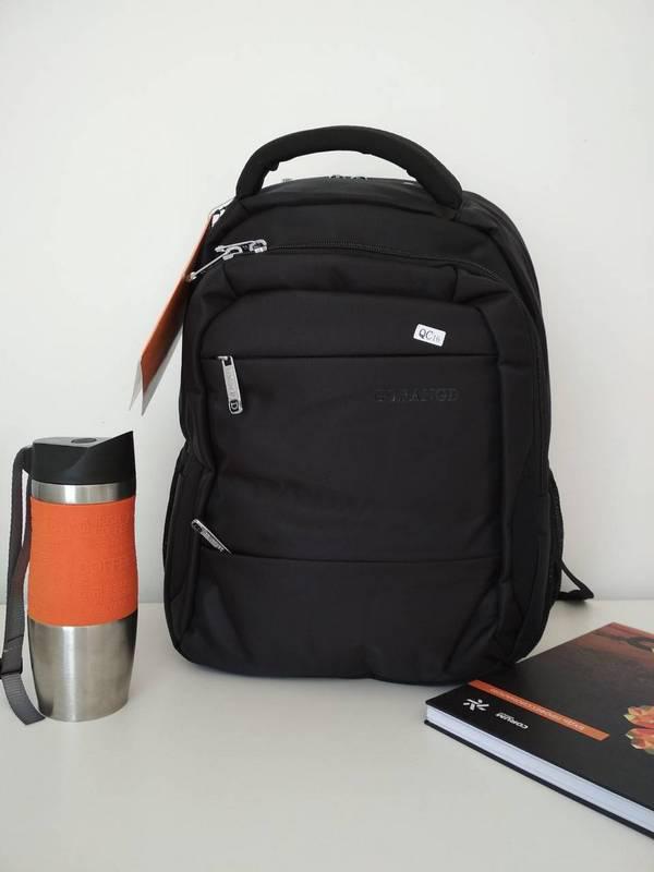 Черный рюкзак подростковый для школы Gorangd 42*32*15 см