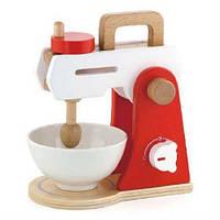Деревянный игровой набор кухонных принадлежностей Viga Toys «Миксер+тостер+кофеварка»