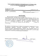 Заключение на электронные компоненты для таможенной очистки (импорт)