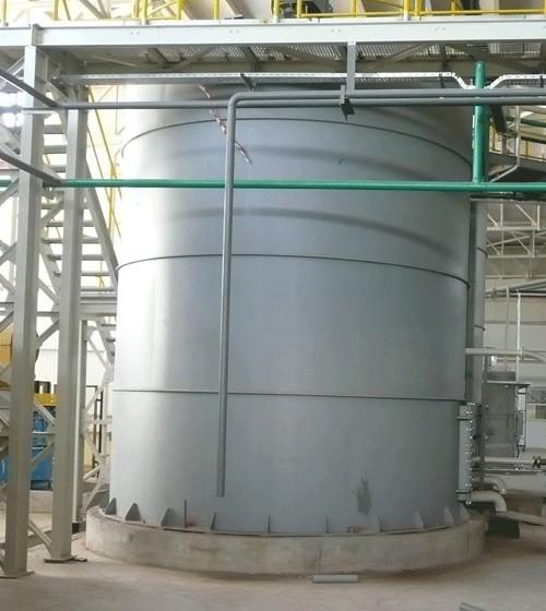 Изготовление и монтаж резервуара рвс-100
