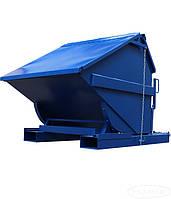 Самоопрокидывающийся контейнер для мусора СКМ-600 СК