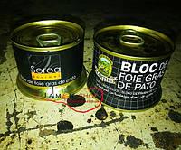 Блок Фуагра (утиная печень) Bloc de foie gras de pato lata, Испания, 130 грамм.