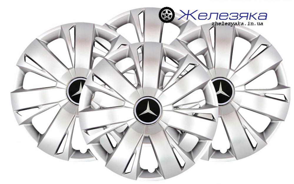 Колпаки на колеса R16 SKS/SJS №411 Mercedes-Benz