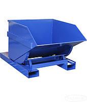 Самоопрокидывающийся контейнер для мусора СКМ-600 БК