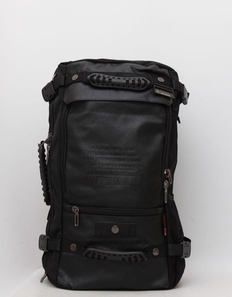 6f63f9755a54 Трансформер Кожаная сумка рюкзак Witzman мужской спортивный городской  повседневный аксессуар Код: КГ5068