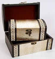 Набір дерев'яних скриньок (2шт) 405-207