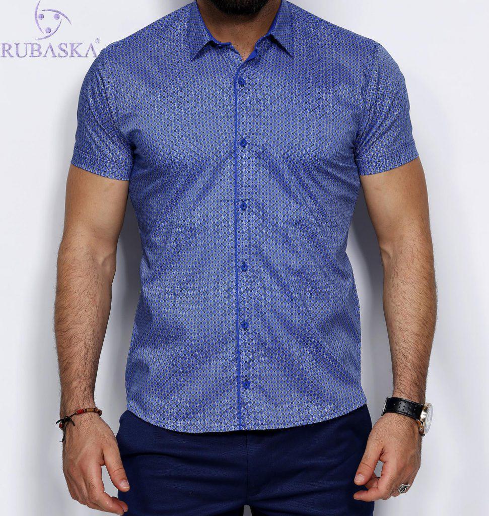 Стильная мужская рубашка с коротким рукавом  продажа, цена в Одессе ... eeafe791391