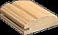 Рамочный профиль МДФ №024 и 024 к (косичка) шпонированный 22 мм 2,8мх60 мм, фото 2