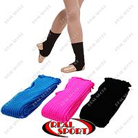 Гетры для танцев разогревочные GM060001 (акрил, l-40 см, цвет в ассортименте)