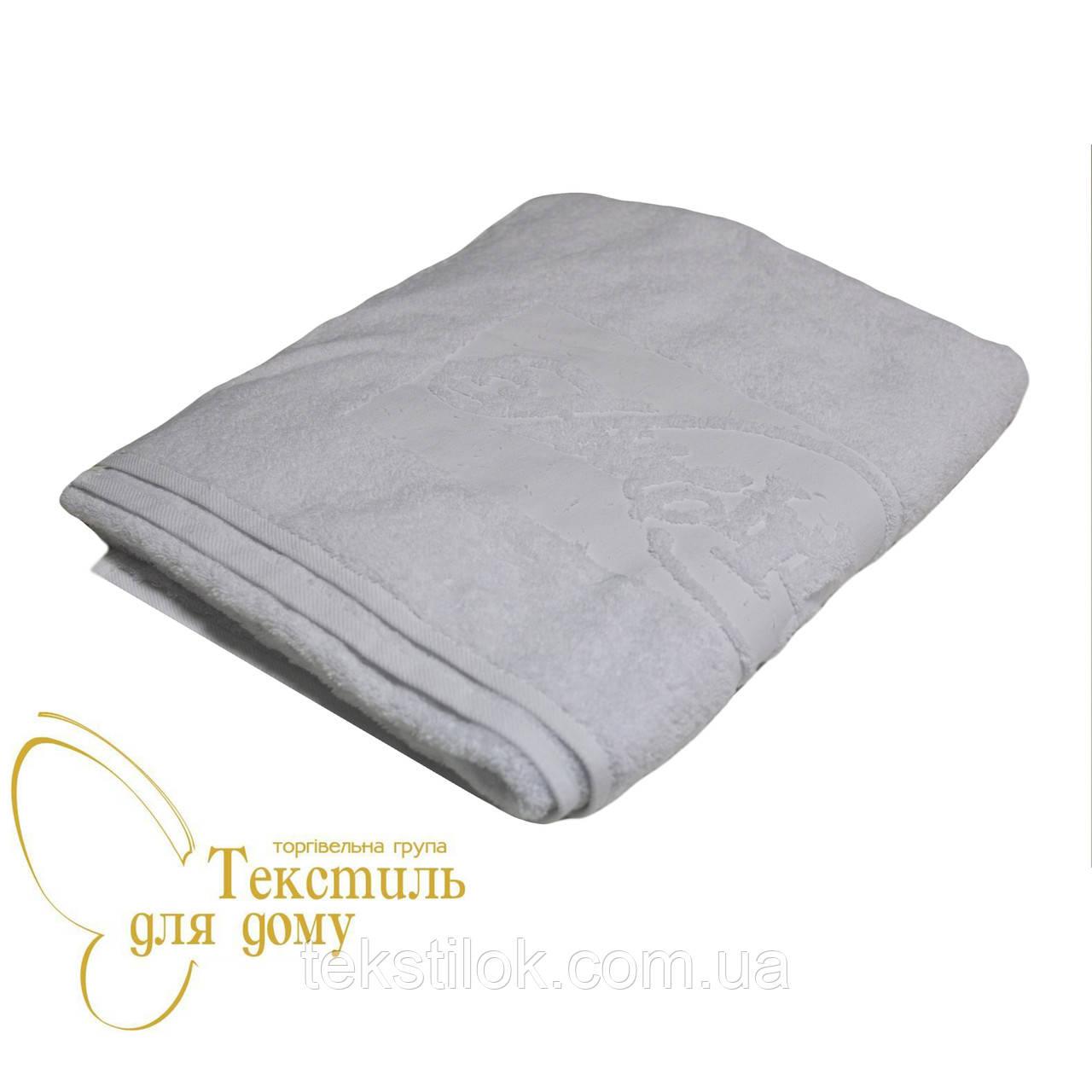 Полотенце для сауны 75*180, 575 гр/м2,16/1, белое
