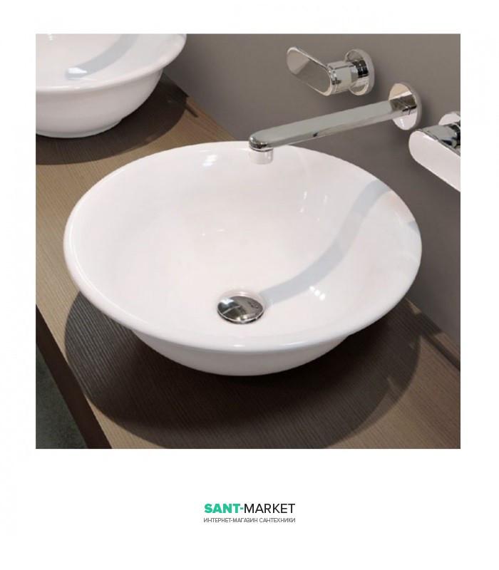 Раковина для ванной накладная Flaminia коллекция Boll белая BL44L
