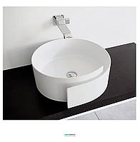 Раковина для ванной накладная Flaminia коллекция Roll белая RL44L
