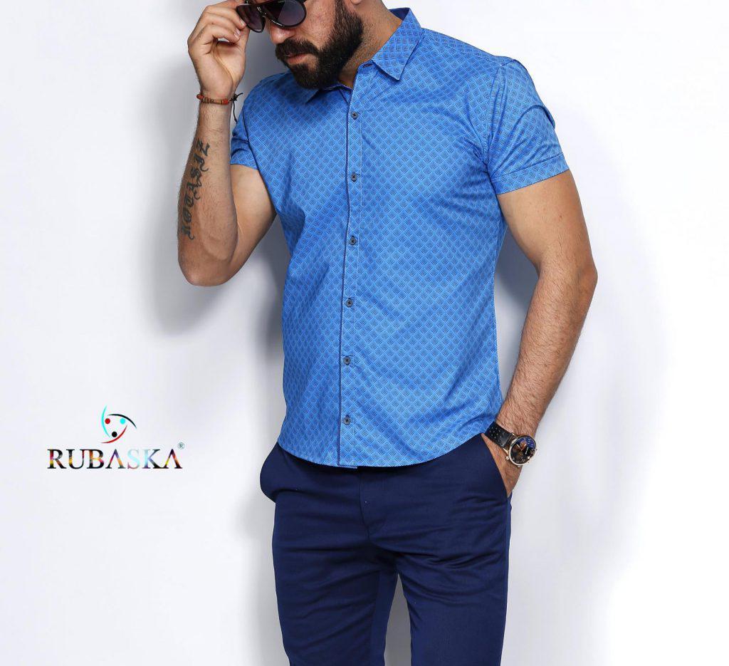 5685aa6e4 Красивая мужская рубашка с коротким рукавом: продажа, цена в Одессе ...