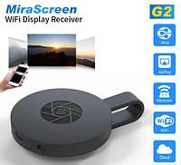 Беспроводное подключение к ТВ Mirascreen G2