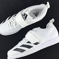 Штангетки Adidas Powerlift 4 (Белые 41 р.)