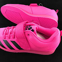 Штангетки Adidas Powerlift 4 (Розовые 41 р.)