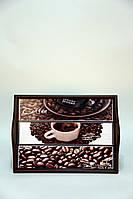 """Поднос на подушке, с ручками """" Coffee """""""