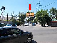 Щит г. Одесса, Малиновского Маршала ул., 101 / ул. Спартаковская, гусь, со стороны Малиновского строительного рынка
