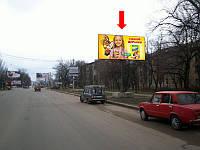 Щит г. Николаев, Херсонское шоссе, 94 / ул. Космонавтов, строительный рынок, в центр
