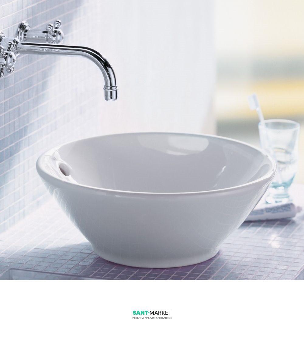 Раковина для ванной накладная Duravit коллекция Bacino 42х42х17 белая 0325420000