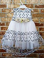 Платье нарядное для девочки 6,9 месяцев