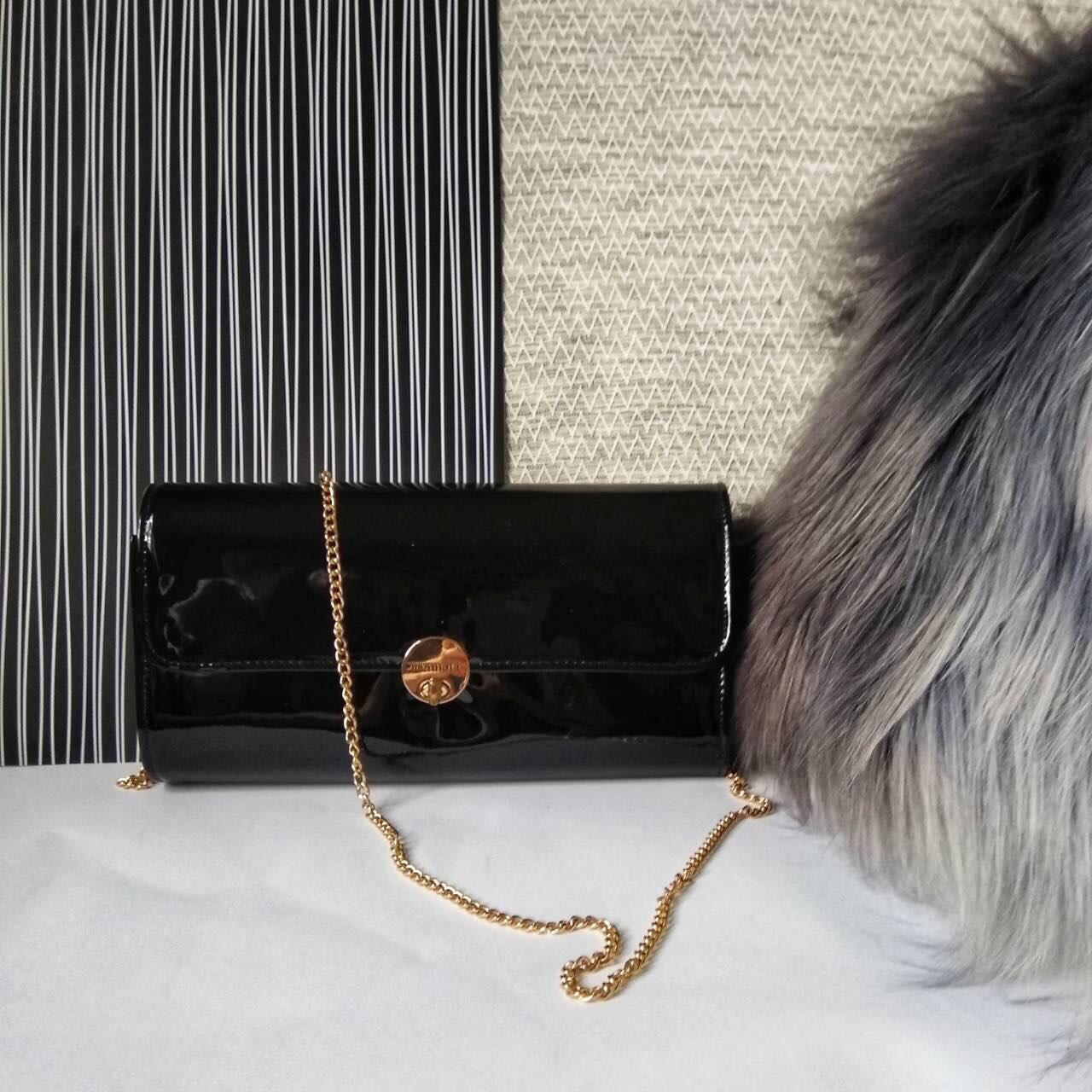 f545a643d54f Черный лакированный клатч , цена 460 грн., купить в Днепре — Prom.ua ...