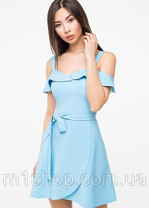 Однотонное женское летнее платье(5987-5986ie), фото 2