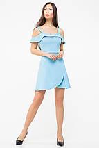 Однотонное женское летнее платье(5987-5986ie), фото 3