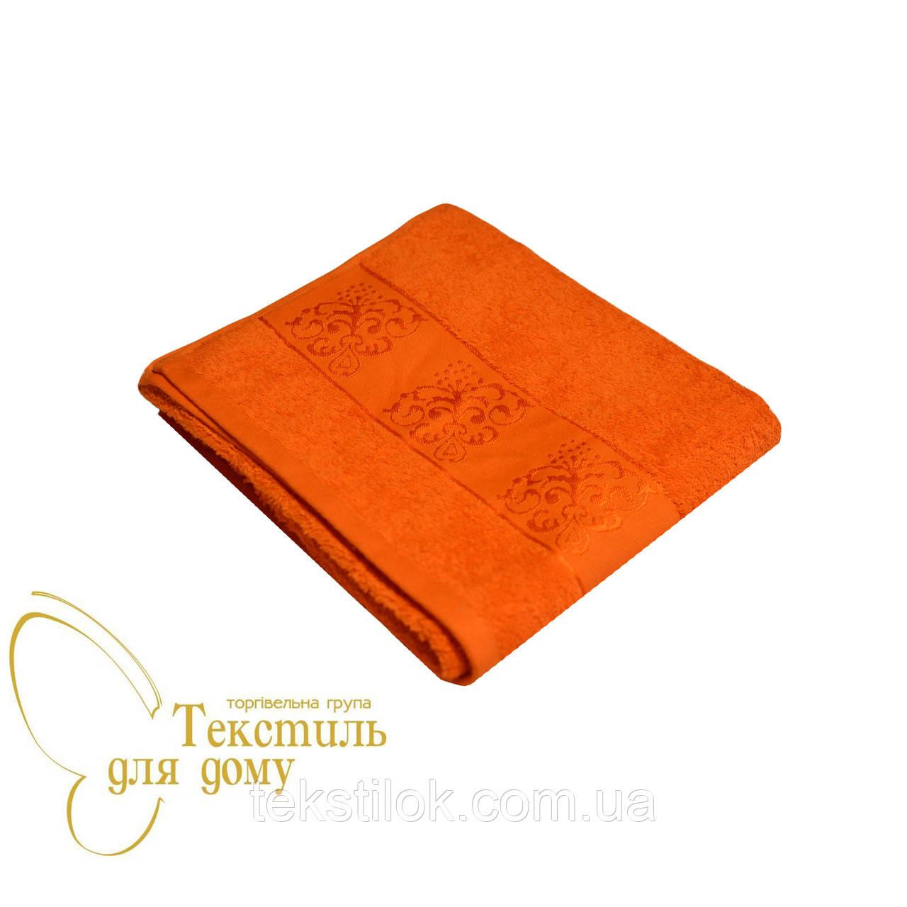 Полотенце лицевое Motif 50*90, оранжевое