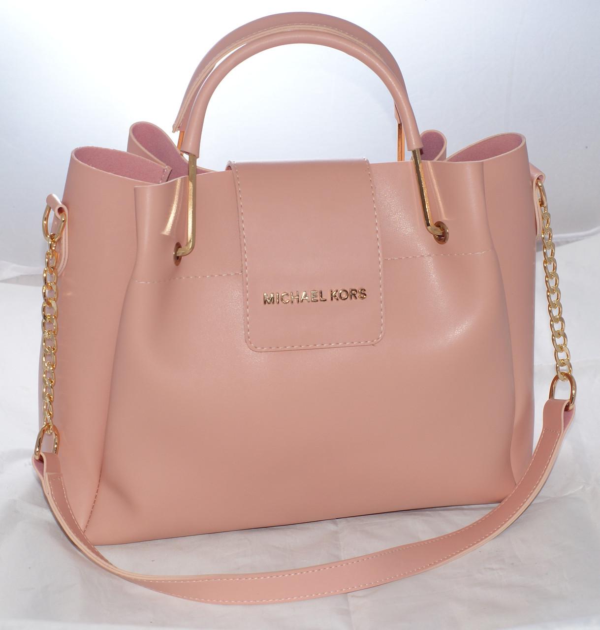 Женская сумкаMichael Kors (Майкл Корс), розовая