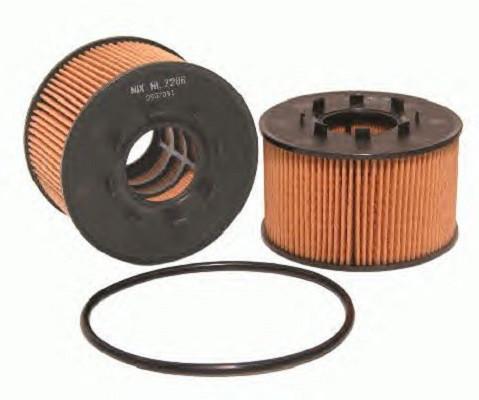 Масляный фильтр WL7286 для Ford Mondeo III, Transit., JaguarX-Type