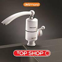 Проточный водонагреватель Delimano 3КВ (Делимано), мини бойлер, электронный нагреватель воды, нагреватель воды