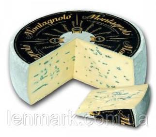 Сыр c голубой плесенью Montagnolo Affine Black Kaserei Champignon Монтаньйоло Аффине