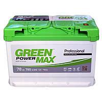 Аккумулятор GREEN POWER MAX 6СТ-78Ah 780A (0) правый +R Евро