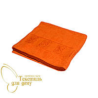 Полотенце банное Motif 70*140, оранжевое