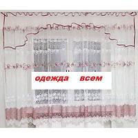 Кухонная  занавеска  Карина (С.У.) 1,8 м, фото 1