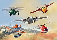 Фотообои 3 D детские Дасти и его команда размер 368 х 254 см