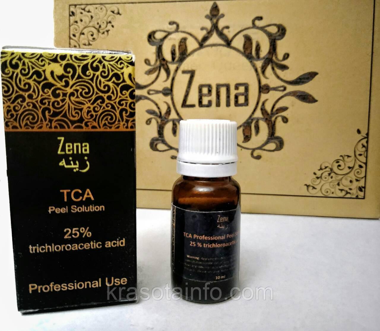 ТСА пилинг 25% - Трихлоруксусная кислота, Zena, 10 мл.