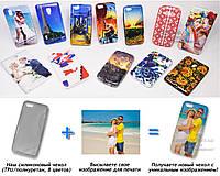 Печать на чехле для Apple iPhone 5c (Cиликон/TPU)